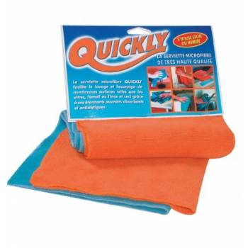 Quickly / Serviettes microfibres