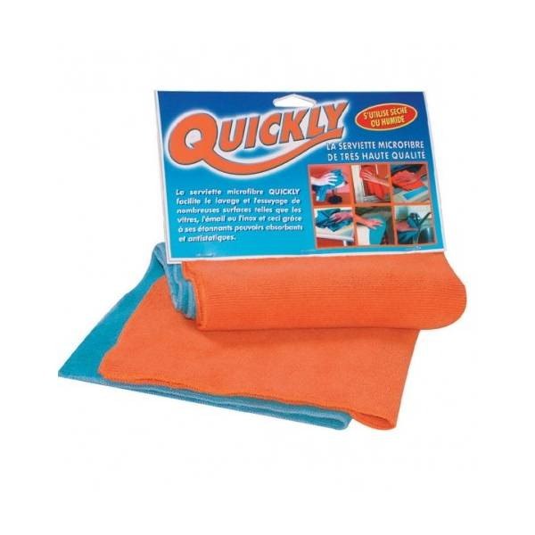 Quickly / Serviettes microfibres