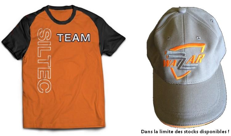 Promo T-Shirt et Casquette offerts !